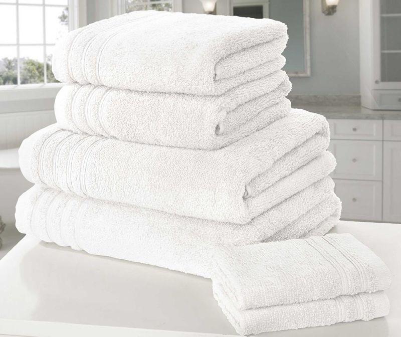 Set 6 kupaonskih ručnika So Soft White