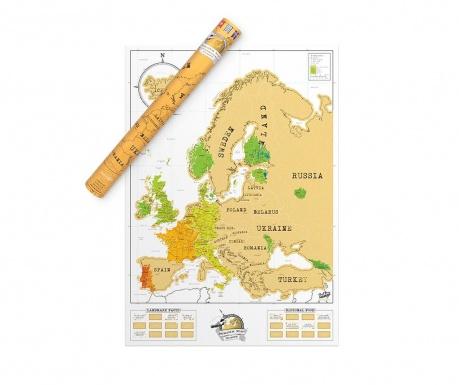 Ξυστός χάρτης Euro