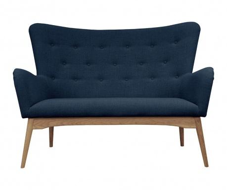 Sofa 2 locuri Karl Blue