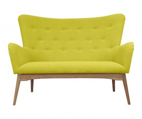 Sofa 2 locuri Karl Yellow