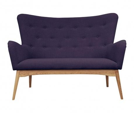 Sofa 2 locuri Karl Violet