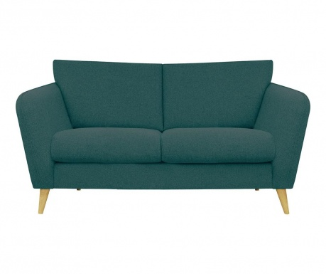 Canapea 2 locuri Max Turquoise