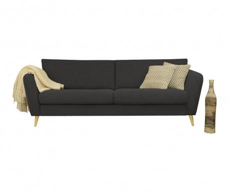 Canapea 3 locuri Max Dark Grey