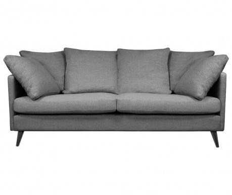 Canapea 3 locuri Victoria Dark Grey