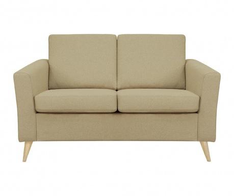Canapea 2 locuri Alex Sand Wooden Legs