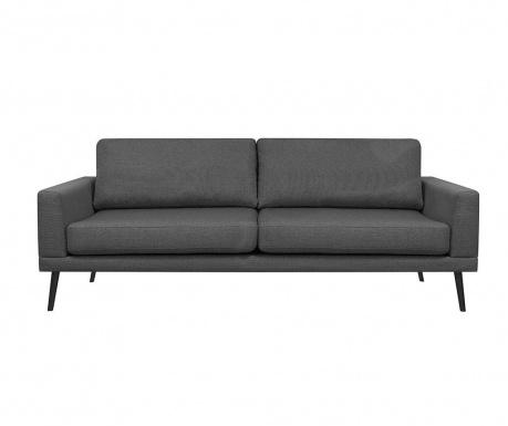 Canapea 3 locuri Franck Dark Grey