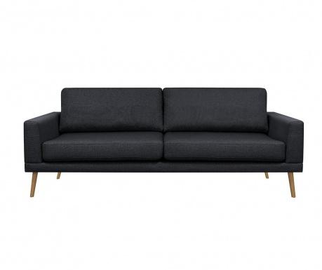 Canapea 3 locuri Alan Black