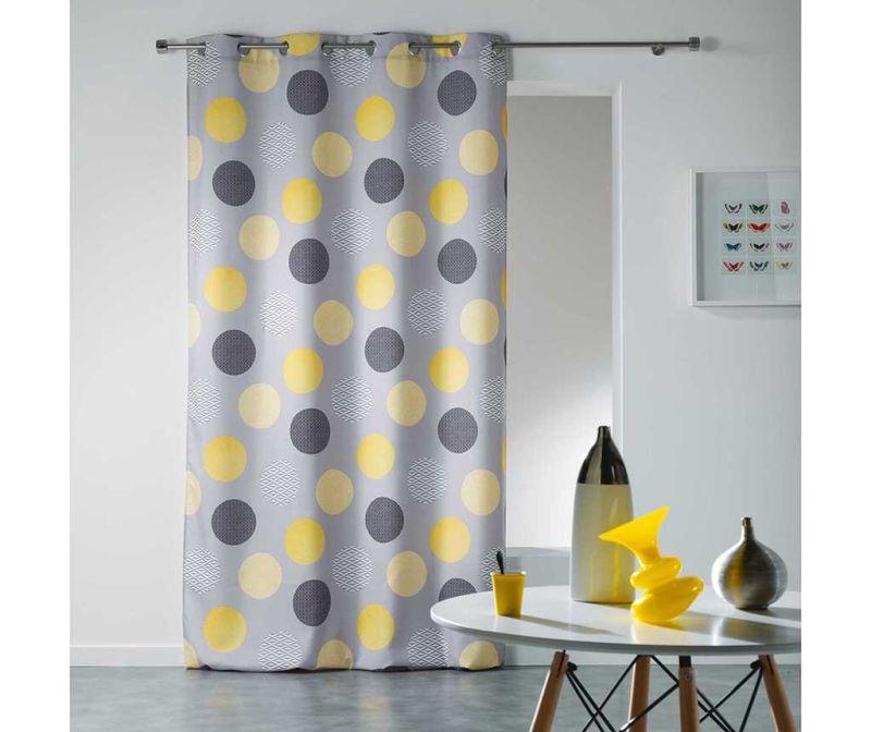 Draperie Odaly Yellow 140x260 cm
