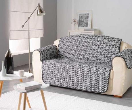 Kiria Black Steppelt huzat kanapéra 179x223 cm