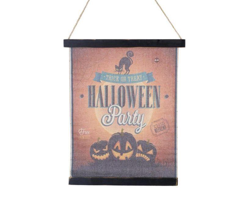 Zidni ukras Halloween Sign