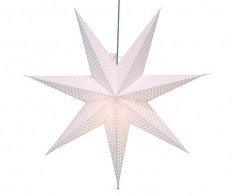 Висяща светеща декорация Huss Star White