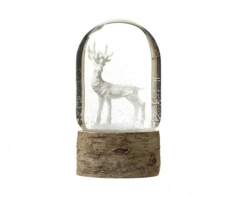 Dekoracija White Reindeer