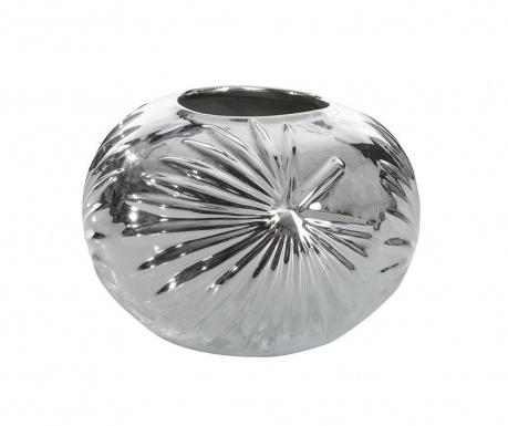 Leto Spherical Silver Váza