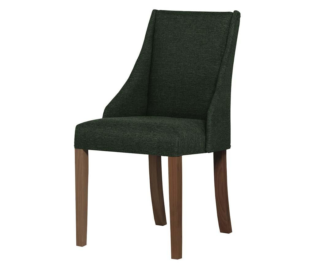 Set 4 scaune Absolu Brown Dark Green
