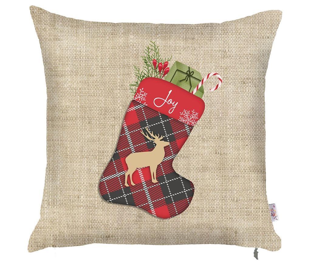 Fata de perna Christmas Joy 43x43 cm