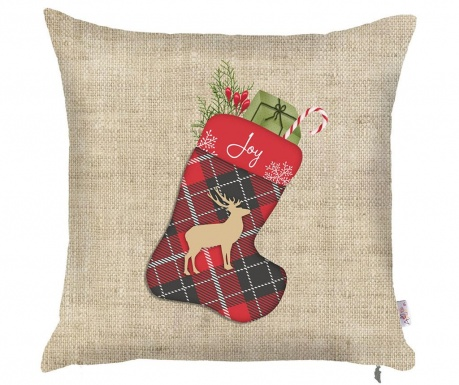 Калъфка за възглавница Christmas Joy 43x43 см