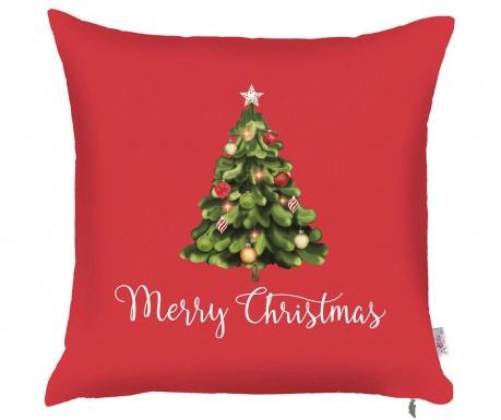 Калъфка за възглавница Merry Christmas Tree 43x43 см