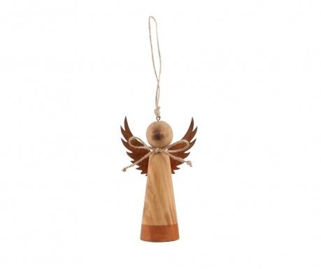 Κρεμαστό διακοσμητικό Wood Angel