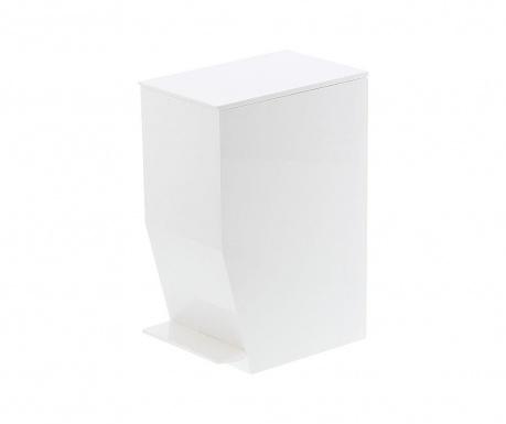 Кош за отпадъци с капак и педал Olin White 3.9 L