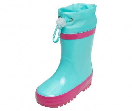 Cizme de ploaie copii Warm Turquoise 20-21