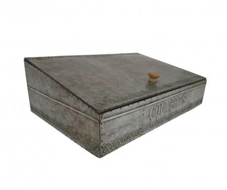 Pudełko z pokrywką na sztućce Couverts