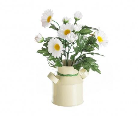 Floare artificiala in ghiveci Margarite