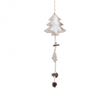 Set 6 decoratiuni suspendabile Tree with Pinecones