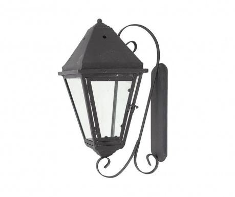 Felinar de perete Lantern Black