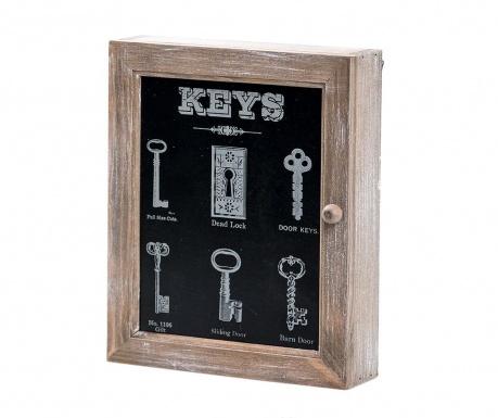 Vintage Kulcstartó szekrényke
