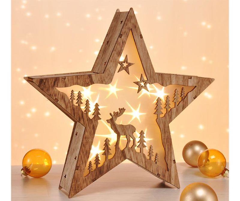 Svjetleći ukras Star