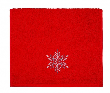 Πετσέτα μπάνιου Snowflake Shine 30x50 cm