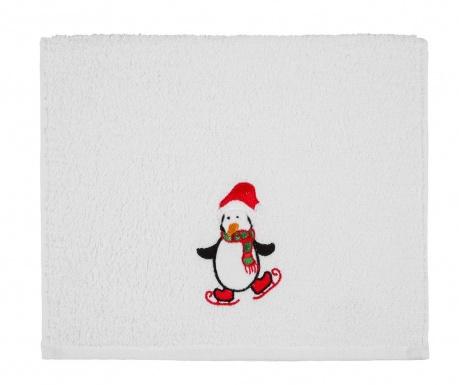 Πετσέτα μπάνιου Penguin Christmas 30x50 cm