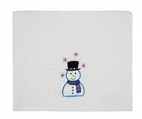 Πετσέτα μπάνιου Smiling Snowman 30x50 cm