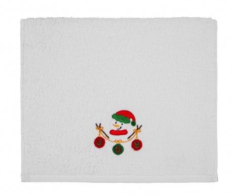 Πετσέτα μπάνιου Snowman Joy 30x50 cm