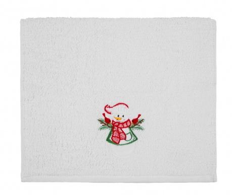 Πετσέτα μπάνιου Christmas Snowman 30x50 cm