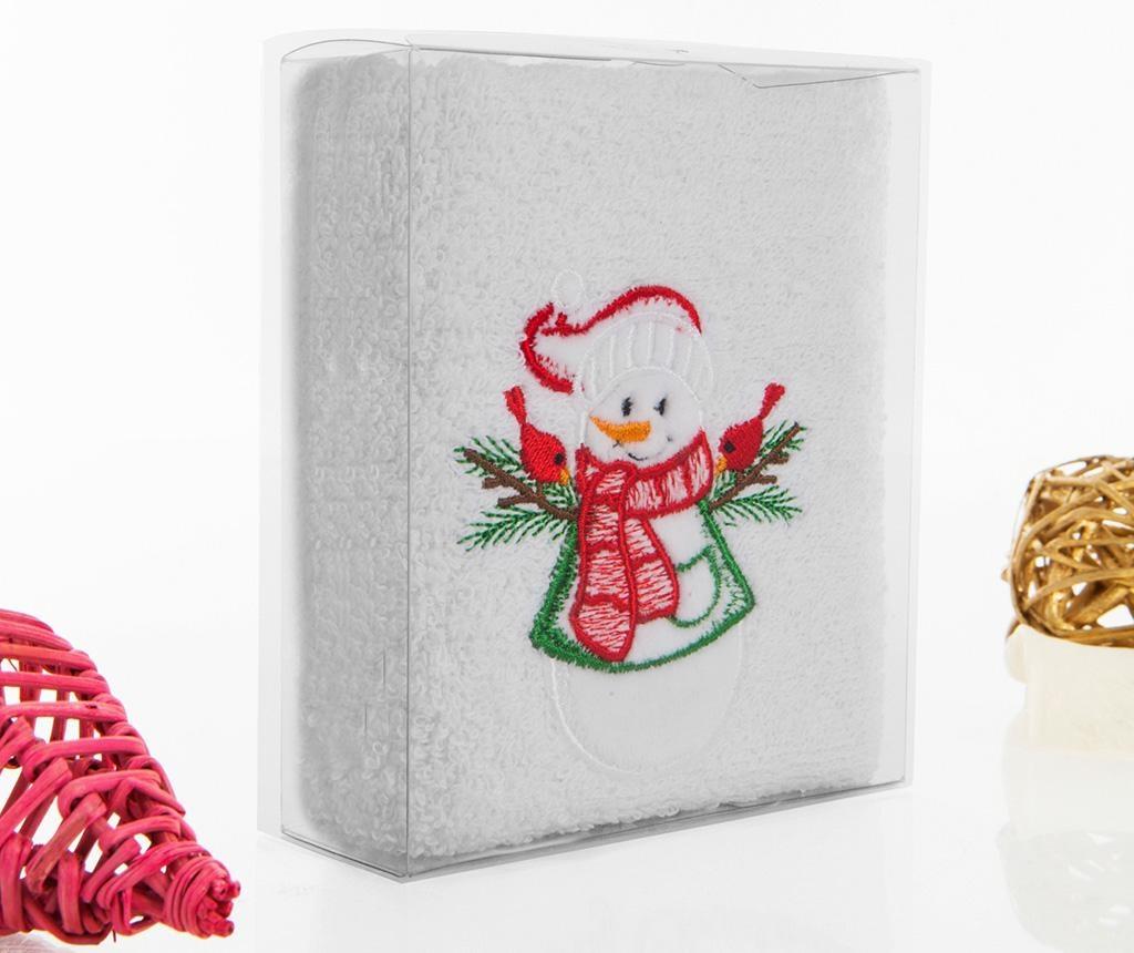 Prosop de baie Christmas Snowman 30x50 cm