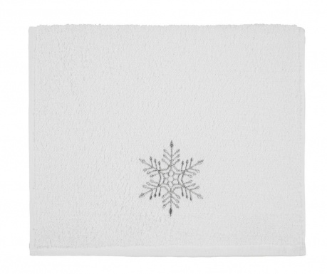 Πετσέτα μπάνιου Feast Snowflake 30x50 cm