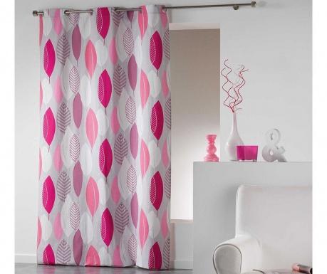 Κουρτίνα Leafy Pink