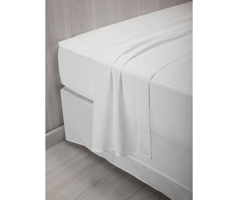 Cearsaf de pat Percale Quality White 220x260 cm