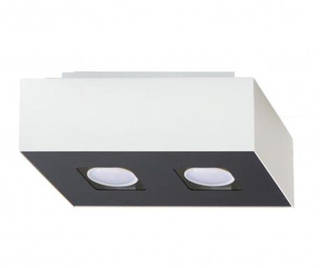 Stropná lampa Hydra Duo White and Black