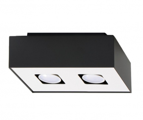 Stropná lampa Hydra Duo Black and White