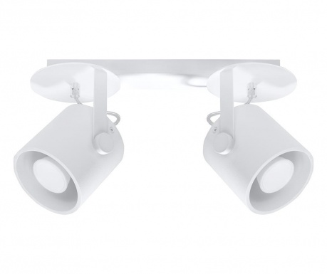 Stropná lampa Lea Duo White