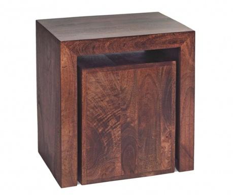 Toko Dark Cube 2 db Asztalka