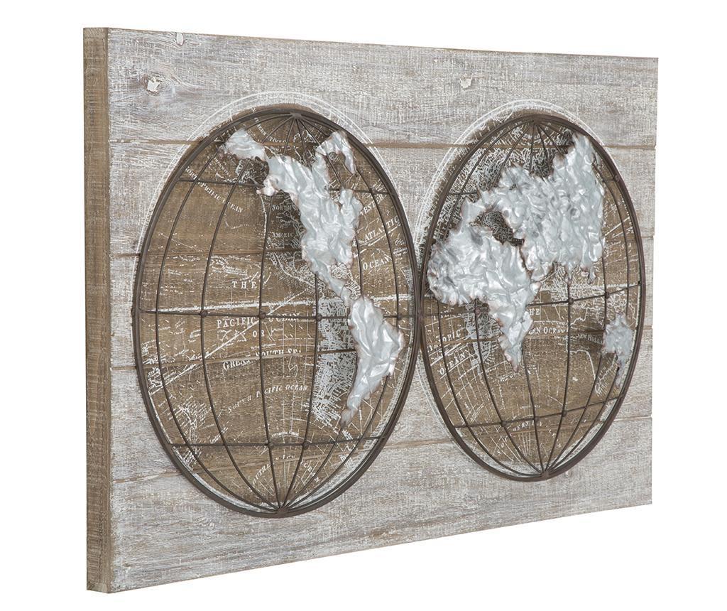Decoratiune de perete Two Worlds