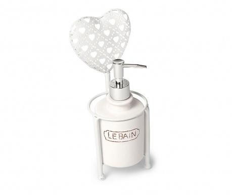 Dozator za tekući sapun s  držačem Cuore Heart