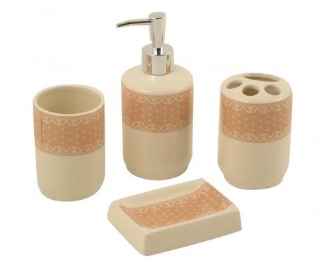 4-dijelni set za kupaonicu Rustic Brown