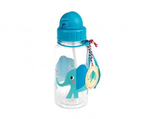 Elvis the Elephant Palack szívószállal gyerekeknek 500 ml