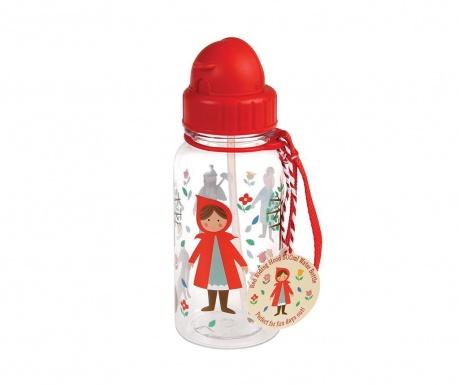 Red Riding Hood Palack szívószállal gyerekeknek 500 ml