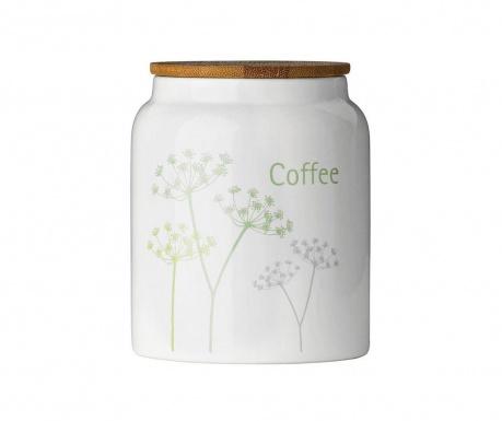 Recipient cu capac pentru cafea Cow Parsley