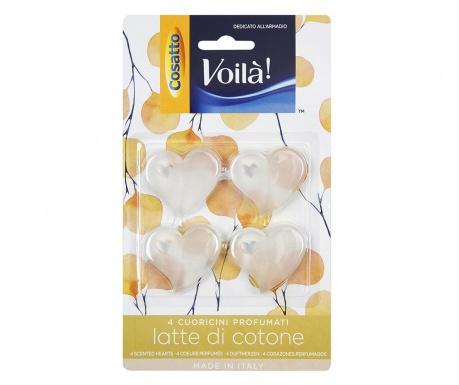Cotton Milk 4 db Szekrényillatosító